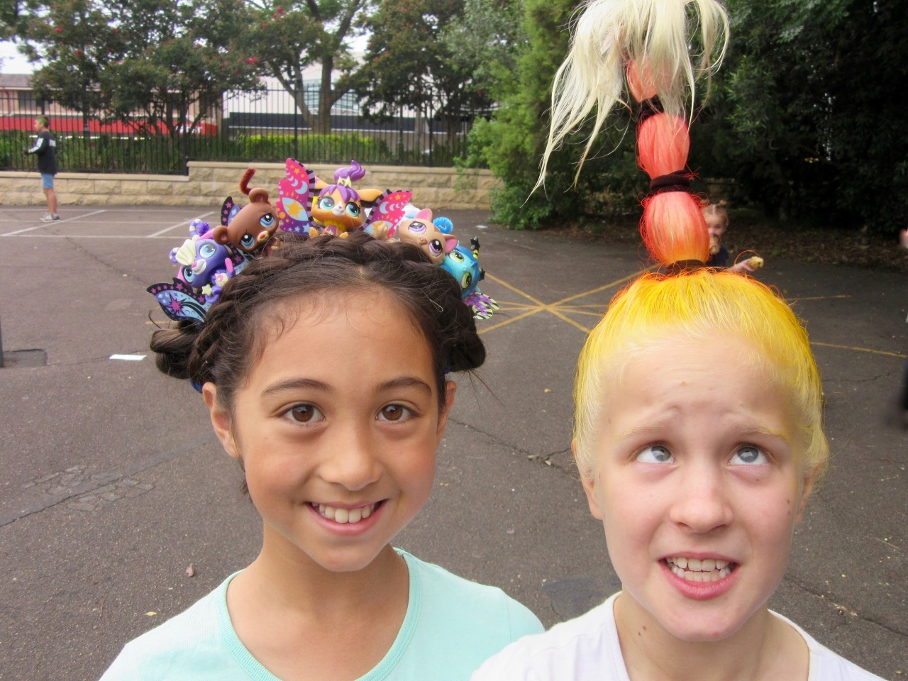 crazy hair day 2018 - gladesville public school